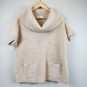 Vineyard Vines Cowl Neck Alpaca Wool Sweater M